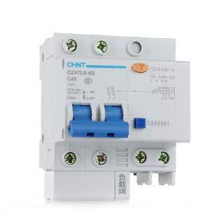 Автоматический выключатель дифференциального тока DZ47LE (Диф. Автомат) 1P+N