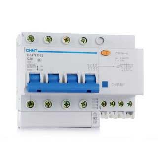 Автоматический выключатель дифференциального тока DZ47LE (Диф. Автомат) 3P+N