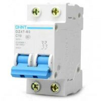 Автоматические выключатели DZ47-60 4,5kA 2P