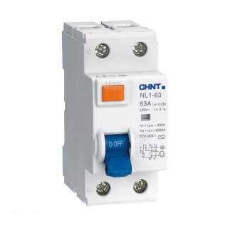 УЗО на DIN-рейку NL1-63 (электромеханический) 2 полюса