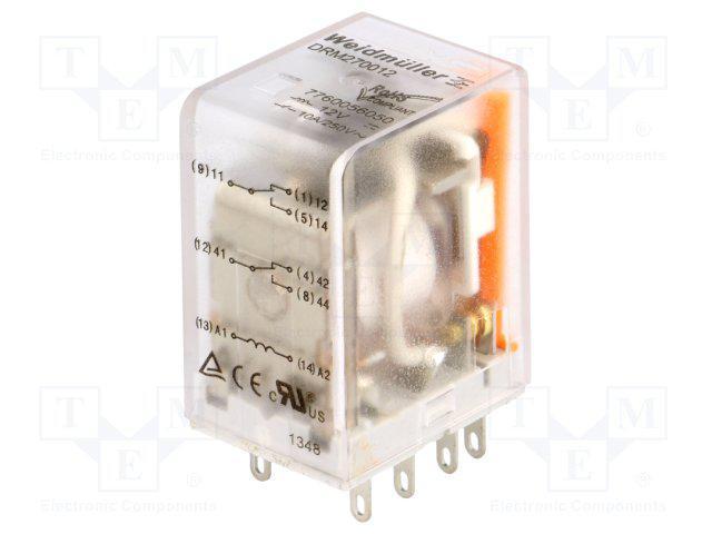 rele-drm-270012lt-weidmuller-7760056068-12v-dc-2co-diod-test